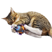 Cat Bell Long Tail Mouse Toy - Pawsomatic