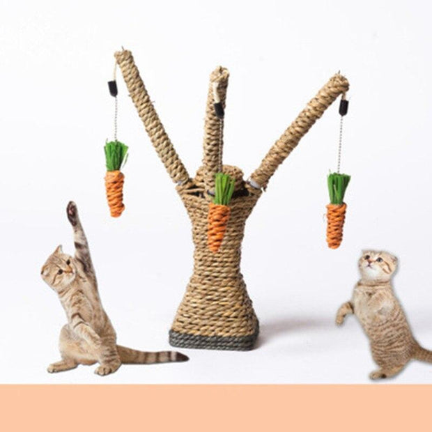 Cat Tree Tower Toy - Pawsomatic