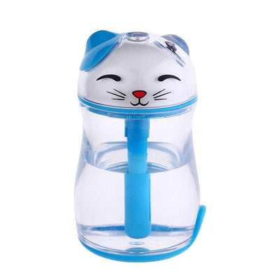 LED Light Humidifier USB Air Diffuser Cat fogger - Pawsomatic