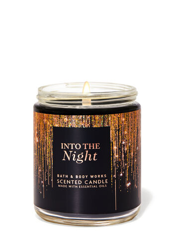 INTO THE NIGHT Single Wick Candle - Classy & Unique