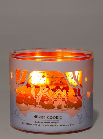 MERRY COOKIE 3-Wick Candle - Classy & Unique