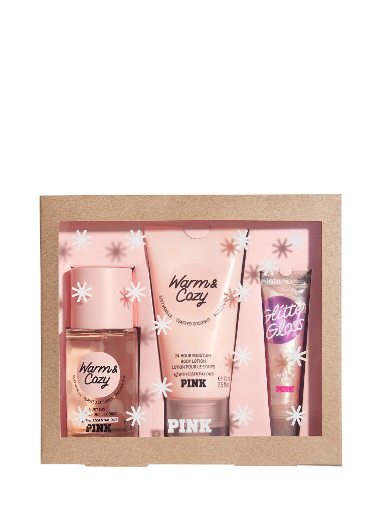 PINK <Warm & Cozy Gift Box / Fresh & Clean Gift Box> - Classy & Unique
