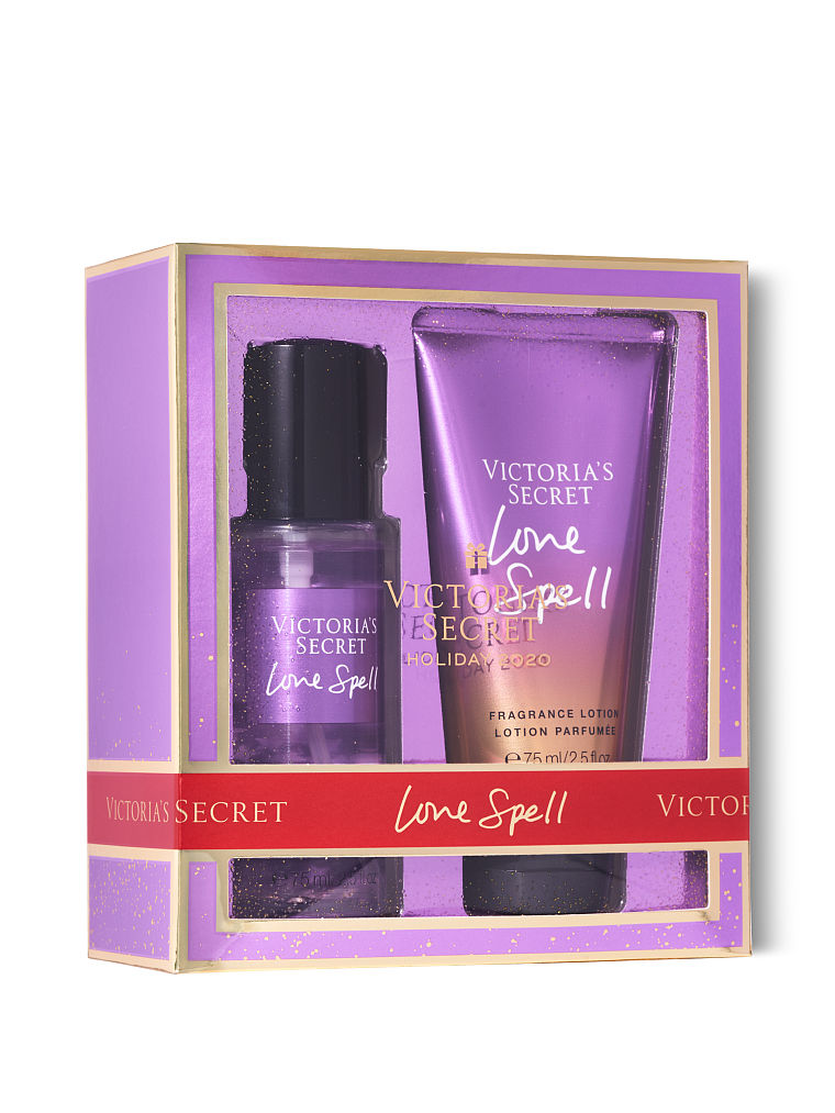 VICTORIA'S SECRET Mist & Lotion Mini Duo Gift - Classy & Unique