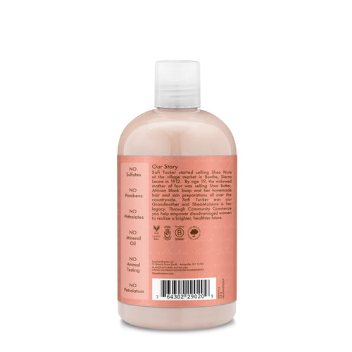 SheaMoisture Curl and Shine Coconut Shampoo Paraben Free for Curly Hair, 13 oz - Classy & Unique