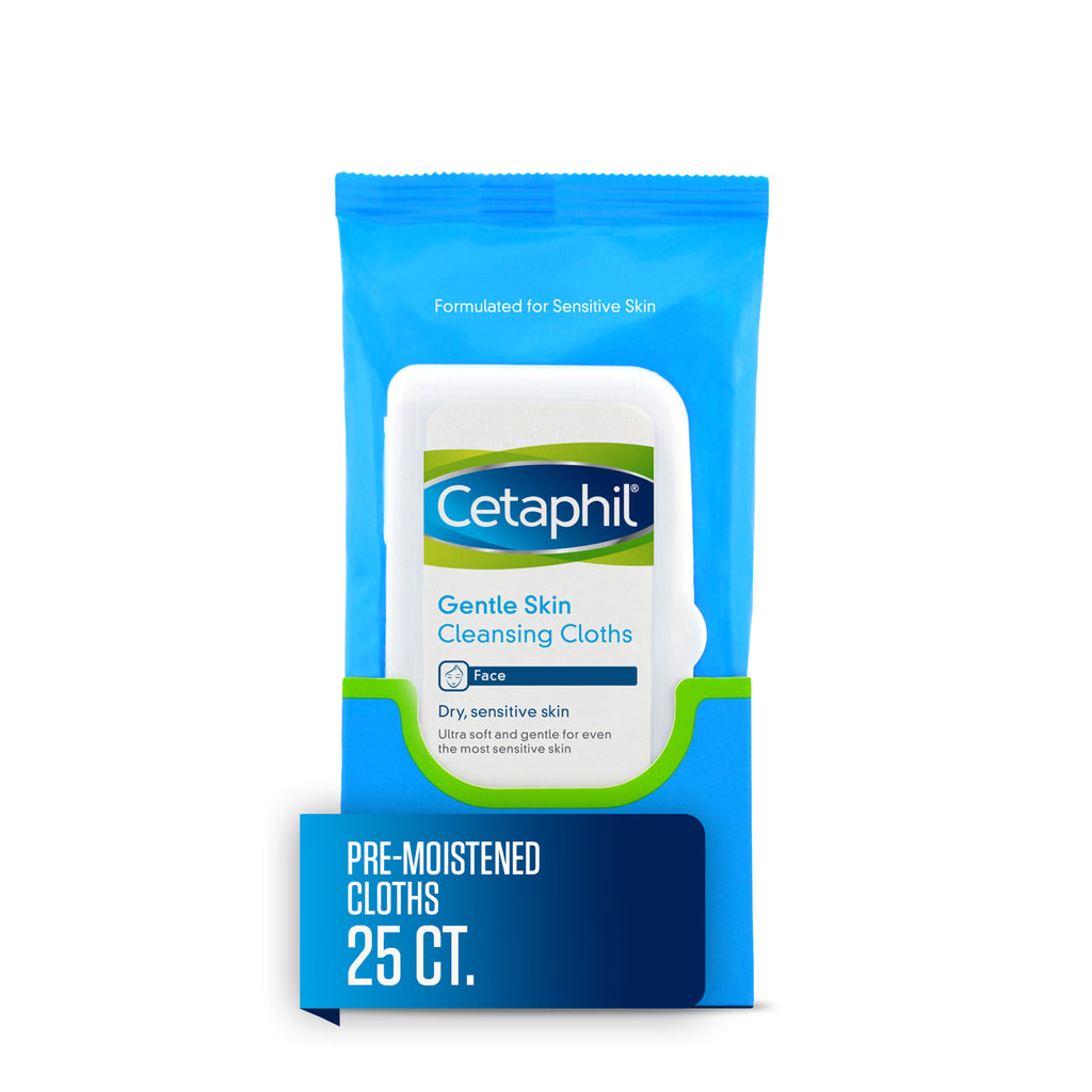 Cetaphil  Face Wipes For Dry / Sensitive Skin - Classy & Unique