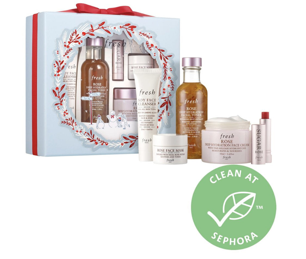 Fresh Rose Hydration Skincare Set - Classy & Unique