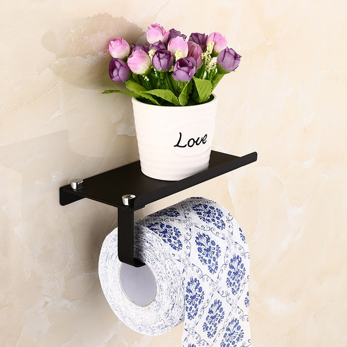 Stainless Steel Toilet Paper Holder - Classy & Unique
