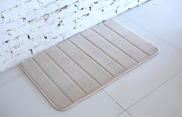 Horizontal Stripes Non-slip Bath Mats - Classy & Unique