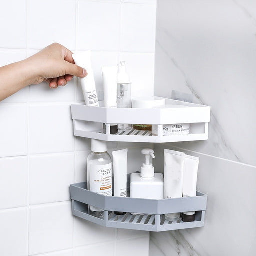 Hanging Wall Bathroom Corner Shelf - Classy & Unique