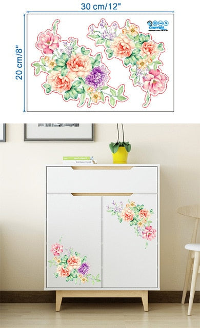 Butterfly Pattern Wall Stickers - Classy & Unique