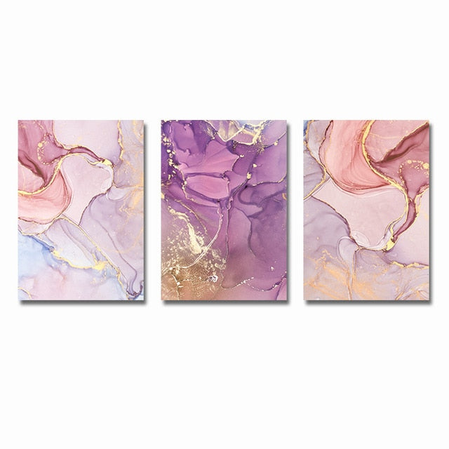 Abstract Canvas Painting Wall Print Pictures - Classy & Unique
