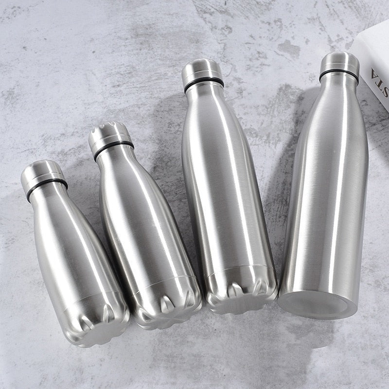 1000ml Stainless Steel Water Bottle - Classy & Unique