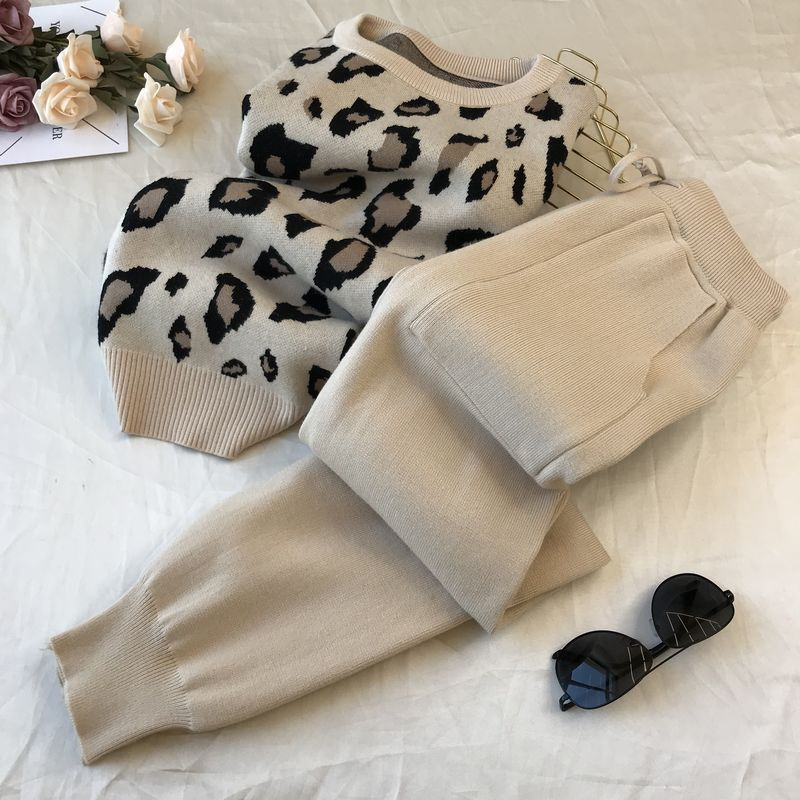 Pullover Sweaters+Pants Sets - Classy & Unique