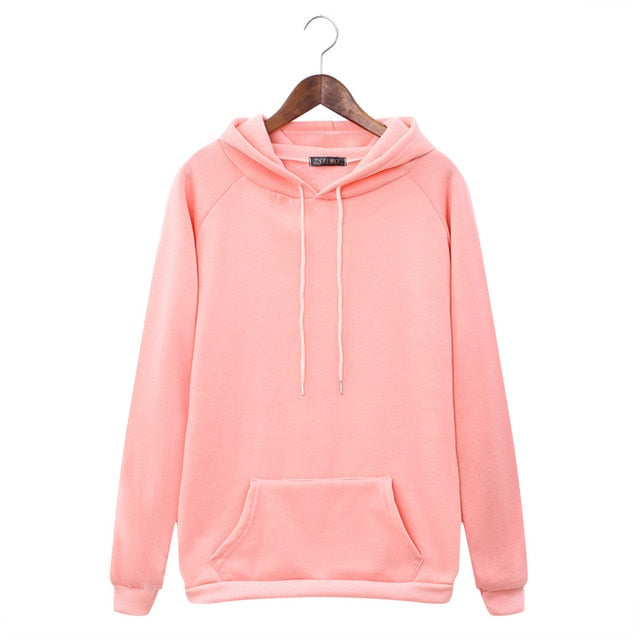 Sweatshirts Women Pink Women's Gown With A Hood Hoodies Ladies Long Sleeve Casual Hooded Pullover Clothes Sweatshirt - Classy & Unique