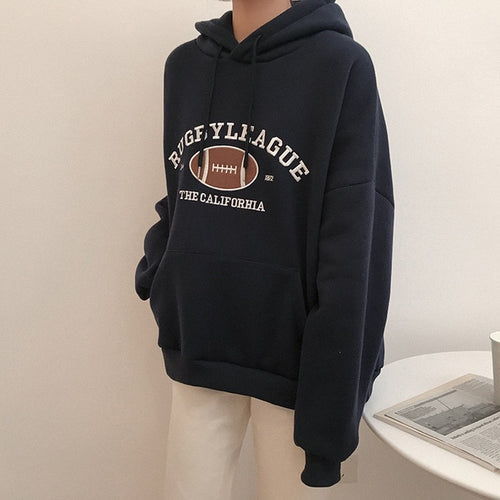 Rugby clothes oversized for women - Classy & Unique