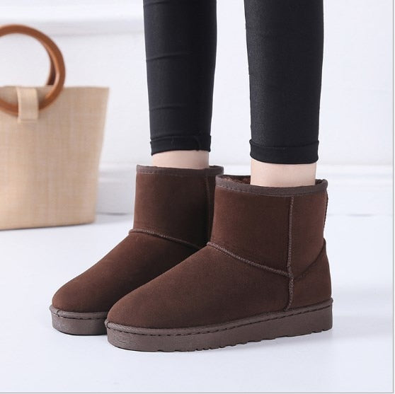Snow / Non-slip Flat Booties Keep Warm - Classy & Unique