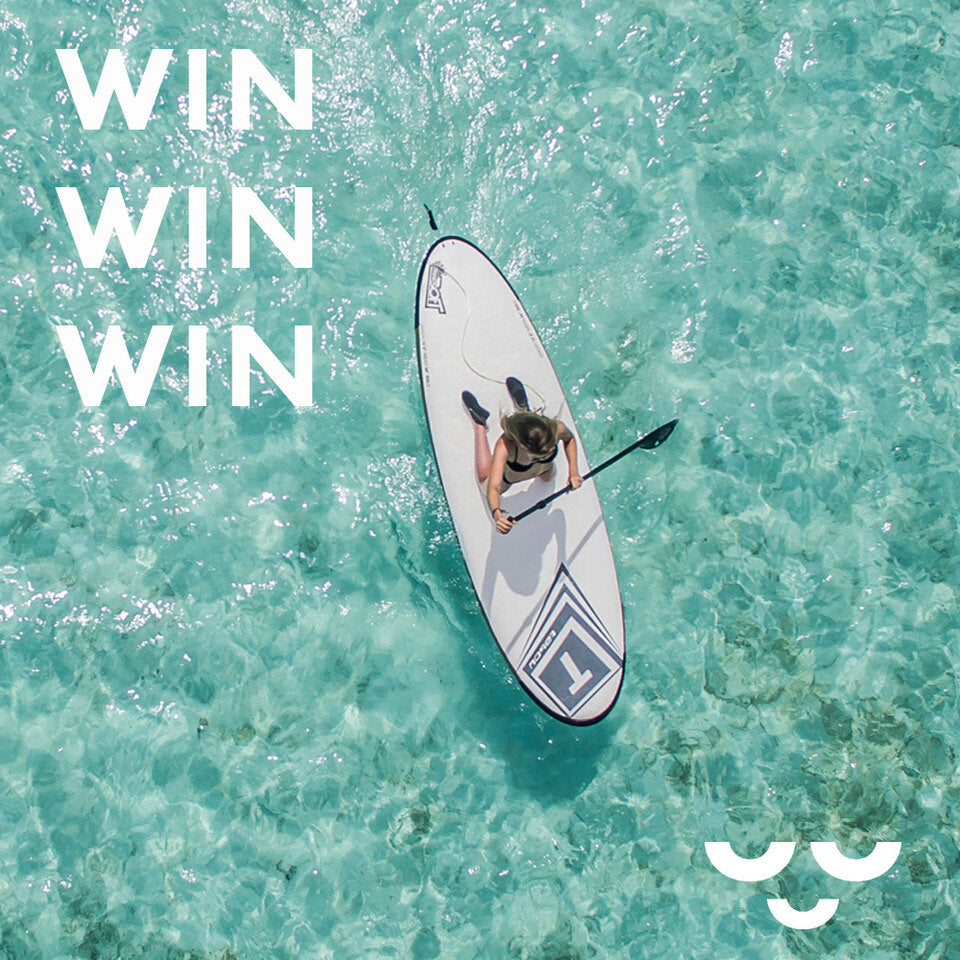 Dive into Summer - Win a Paddleboard