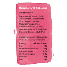 Load image into Gallery viewer, raspberry-and-hibiscus-ingredients-subscribe-and-save-15-percent-feel-good-drinks
