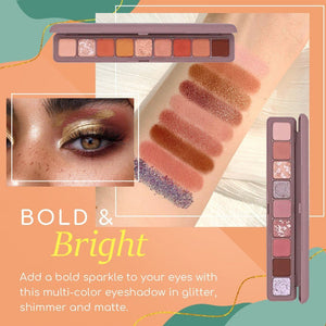 9 Colors Keyboard Fingertip Eyeshadow