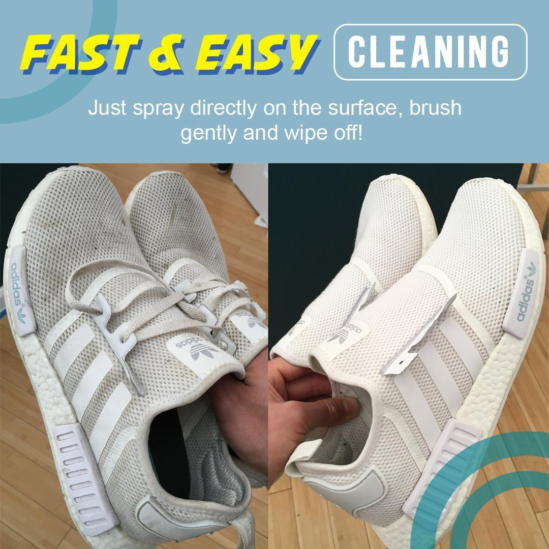 White Shoe Foam Cleaner