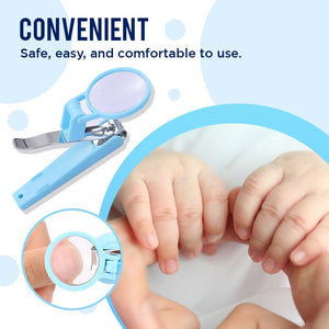 Safety Nail Clipper with Magnifier