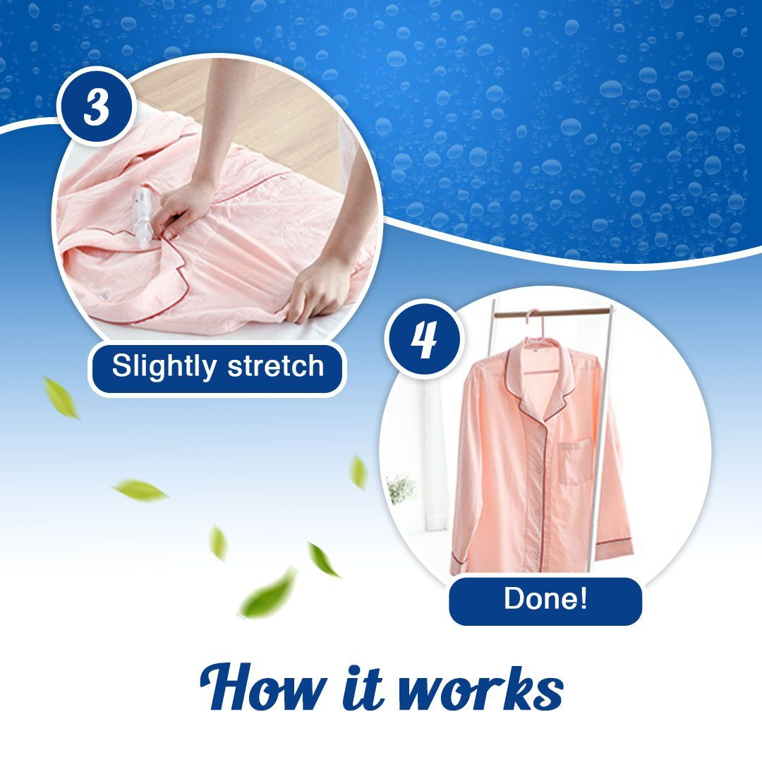 Instant Fabric Wrinkle Release Agent