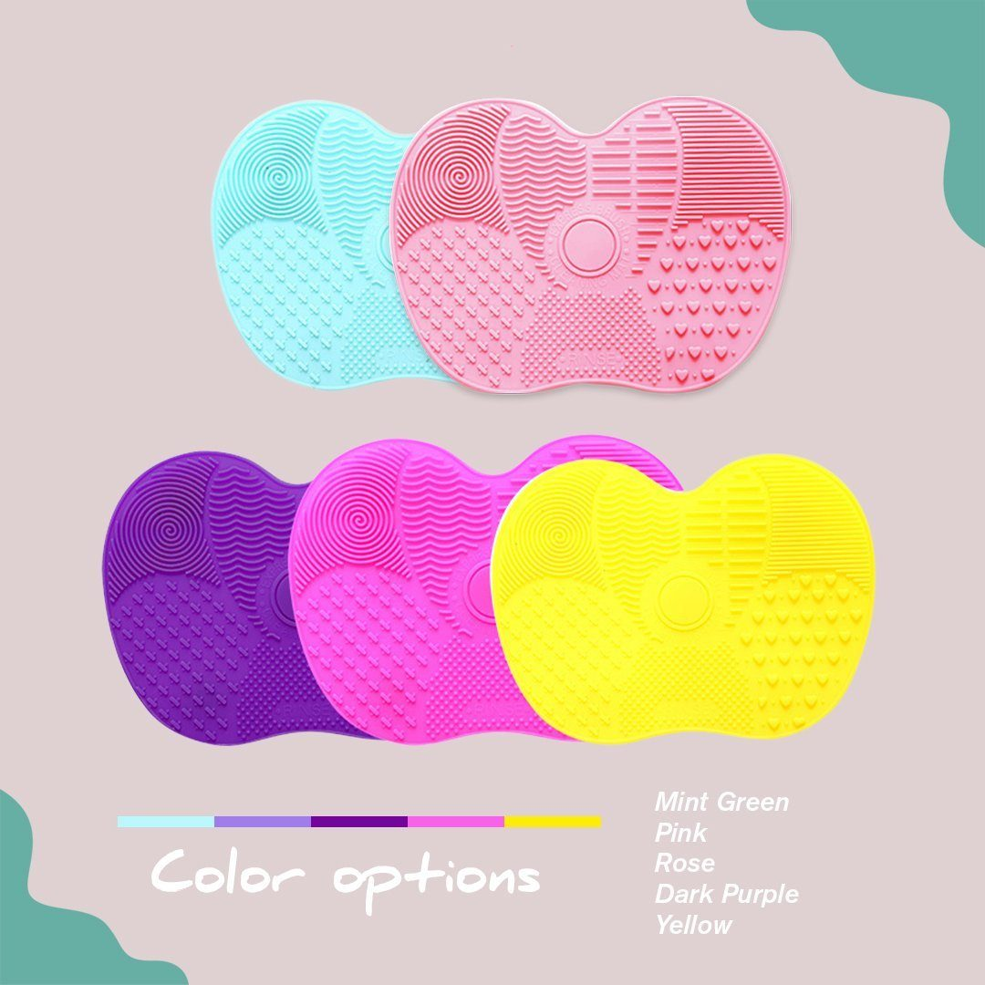 Silicone Makeup Brush Cleansing Pad