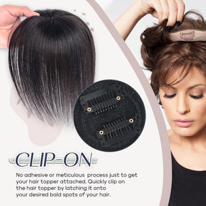 Clip-On Hair Topper