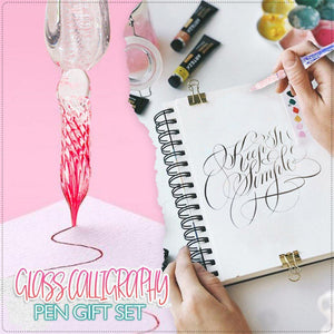 Glass Calligraphy Pen Gift Set