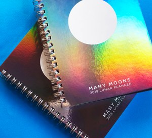 The Many Moons Lunar Planner