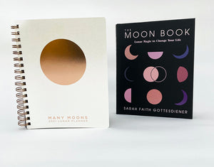 The Moon Magic Bundle: The Moon Book & Many Moons Lunar Planner
