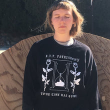 Load image into Gallery viewer, R.I.P. Patriarchy Oversized Sweatshirt
