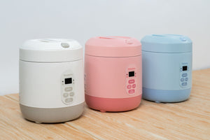Mini Rice Cooker - Strawberry Pink
