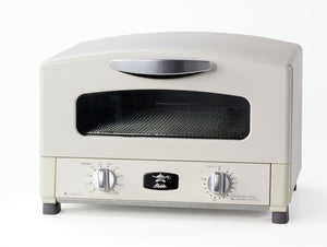Graphite Grill & Toaster Oven in White