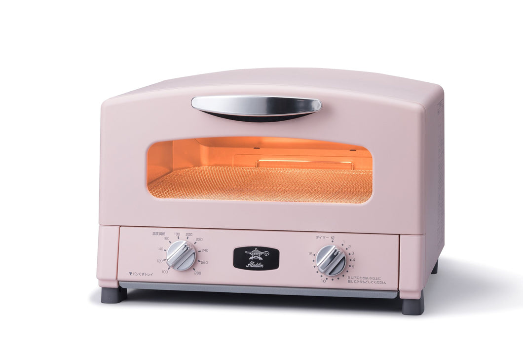 Graphite Grill & Toaster Oven in Pink