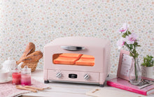 Load image into Gallery viewer, Graphite Grill & Toaster Oven in Pink