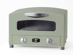 Graphite Grill & Toaster Oven in Green
