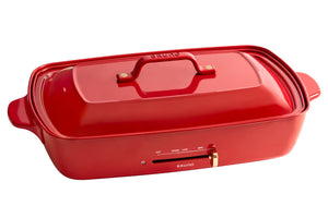 Grande Hotplate in Red
