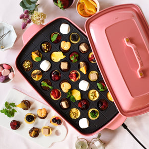 Grande Hotplate in Shell Pink