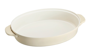Oval Hotplate in Griege