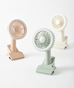 Led Clip Fan in Pink