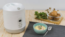 Load image into Gallery viewer, Mini Rice Cooker - Milk White