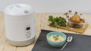 Mini Rice Cooker - Milk White