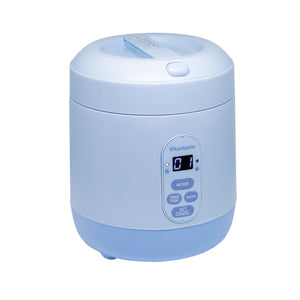 Mini Rice Cooker - Baby Blue