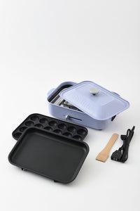 Compact Hotplate in Pale Blue