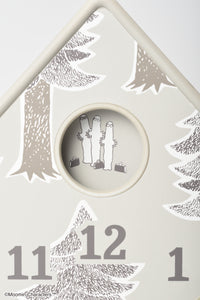 Moomin Mobile Wall Clock