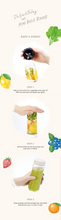 Load image into Gallery viewer, Mini Bottle Blender in Sweet Lemon