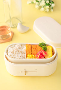 Lunchbox Warmer in Cream White