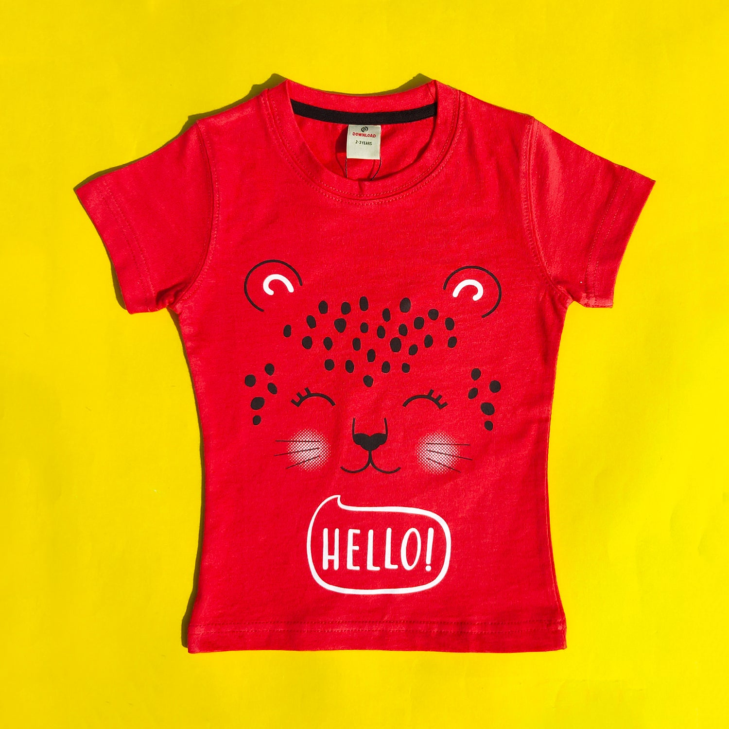 Hello! Candy Red Top