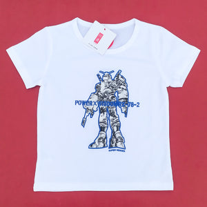 Superheroes Imported White Tee